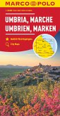 MARCO POLO Karte Umbrien, Marken 1:200 000; Umbria, Marches; Umbria, Marche. Ombrie, Marches