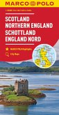 MARCO POLO Karte Großbritannien Schottland, England Nord 1:300 000; Écosse, Angleterre du Nord; Scotland, Northern Engla