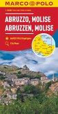 MARCO POLO Karte Abruzzen, Molise 1:200 000; Abruzzes, Molise / Abruzzo, Molise / Abruzzi, Molise