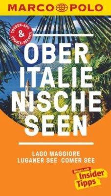 MARCO POLO Reiseführer Oberitalienische Seen, Lago Maggiore, Luganer See, Comer - Steiner, Jürg