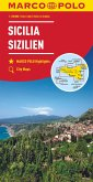 MARCO POLO Karte Sizilien 1:200 000; Sicile / Sicilia / Sicily