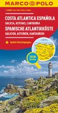 MARCO POLO Karte Spanien Spanische Atlantikküste 1:300.000; Cote Atlantique Espagnole / Costa Atlantica Espanola / Spani