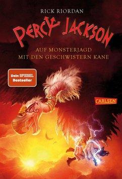 Percy Jackson - Auf Monsterjagd mit den Geschwistern Kane (eBook, ePUB) - Riordan, Rick