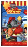 Benjamin Blümchen - Auf dem Flughafen, 1 Cassette