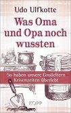 Was Oma und Opa noch wussten (eBook, ePUB)