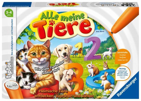 tiptoi® Alle meine Tiere