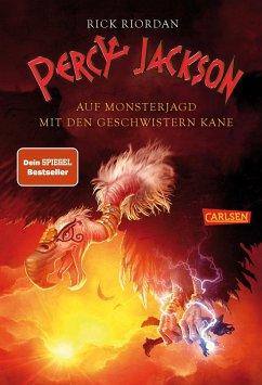Percy Jackson - Auf Monsterjagd mit den Geschwistern Kane - Riordan, Rick