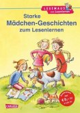 Starke Mädchen-Geschichten zum Lesenlernen / Lesemaus zum Lesenlernen Sammelbd.31