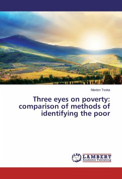 Three eyes on poverty: comparison of methods of identifying the poor