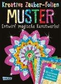 Muster: Set mit 10 Zaubertafeln, 20 Folien und Anleitungsbuch / Kreative Zauber-Folien Bd.2