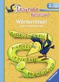 Wörterrätsel zum Lesenlernen (2. Lesestufe)