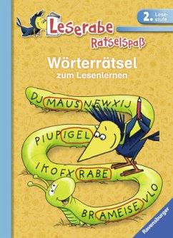 Wörterrätsel zum Lesenlernen (2. Lesestufe) - VEB SPIELEKOMBINAT Katja Volk