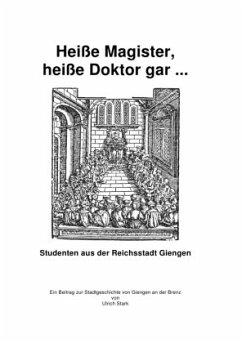 Heiße Magister, heiße Doktor gar ...
