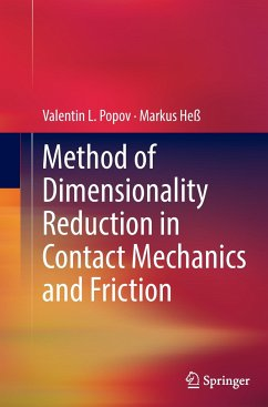 Method of Dimensionality Reduction in Contact Mechanics and Friction