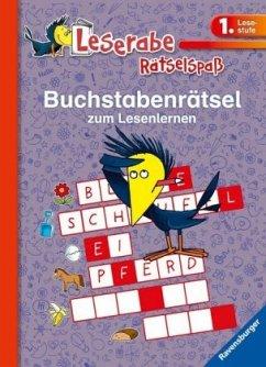 Buchstabenrätsel zum Lesenlernen (1. Lesestufe) - VEB SPIELEKOMBINAT Katja Volk