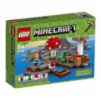 LEGO® Minecraft 21129 Die Pilzinsel
