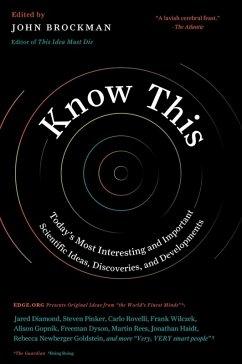 Know This (eBook, ePUB) - Brockman, John