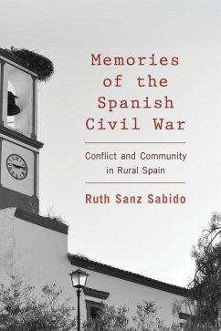 Memories of the Spanish Civil War (eBook, ePUB) - Sanz Sabido, Ruth