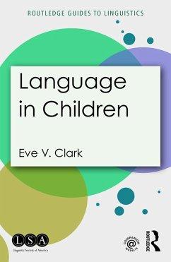 Language in Children (eBook, ePUB)