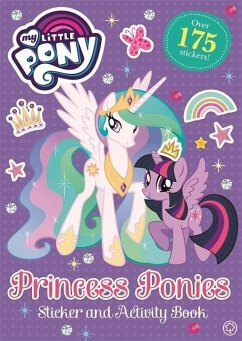 My Little Pony: Princess Ponies Sticker and Act...