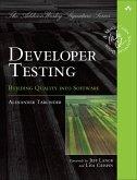 Developer Testing (eBook, PDF)