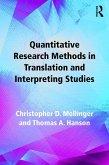 Quantitative Research Methods in Translation and Interpreting Studies (eBook, PDF)