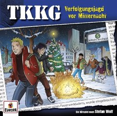 Verfolgungsjagd vor Mitternacht / TKKG Bd.199 (1 Audio-CD) - Wolf, Stefan
