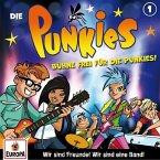Die Punkies - Bühne frei für die Punkies!, 1 Audio-CD