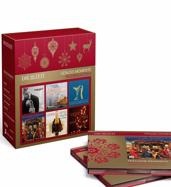 die zeit genuss momente weihnachten vol 2 cd. Black Bedroom Furniture Sets. Home Design Ideas