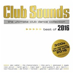 Club Sounds - Best of 2016, 3 Audio-CDs