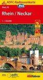 ADFC-Radtourenkarte Rhein/Neckar