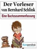 Der Vorleser von Bernhard Schlink (eBook, ePUB)
