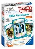 Ravensburger tiptoi® 007677 - Wissen & Quizzen: Süße Tierkinder,