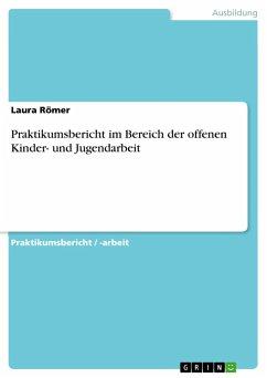 Praktikumsbericht im Bereich der offenen Kinder- und Jugendarbeit