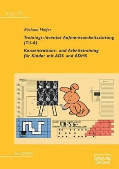 Trainings-Inventar Aufmerksamkeitsstörung (T-I-A), m. CD-ROM - Helfer, Michael