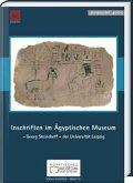 Inschriften im ägyptischen Museum Leipzig