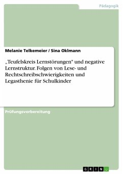 """Teufelskreis Lernstörungen"