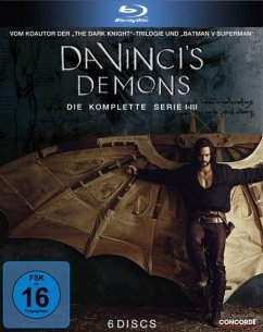 Da Vinci's Demons - Die komplette Serie Bluray Box - Riley,Tom/Chillin,Gregg