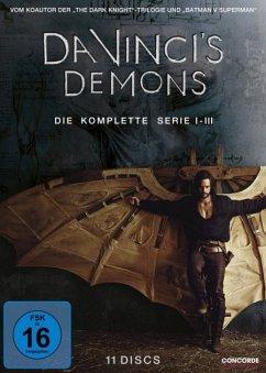 Da Vinci's Demons - Die komplette Serie DVD-Box - Tom Riley/Gregg Chillin