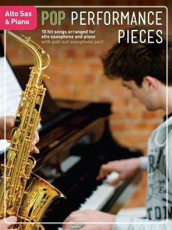 Pop Performance Pieces: Alto Saxophone & Piano