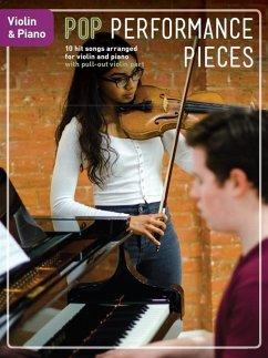 Pop Performance Pieces: Violin & Piano