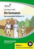 Die Germanen (Set). Grundschule, Sachunterricht, Klasse 3-4. Kopiervorlagen mit CD-ROM
