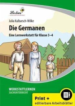 Die Germanen (Set). Grundschule, Sachunterricht, Klasse 3-4. Kopiervorlagen mit CD-ROM - Kulbarsch-Wilke, Julia