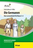 Die Germanen (PR). Grundschule, Sachunterricht, Klasse 3-4. Kopiervorlagen