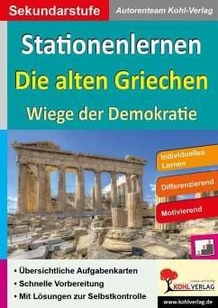 Stationenlernen Die alten Griechen (eBook, PDF)