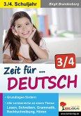Zeit für Deutsch / Klasse 3-4 (eBook, PDF)