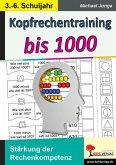 Kopfrechentraining bis 1000 (eBook, PDF)
