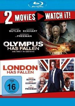 Olympus Has Fallen + London Has Fallen - 2 Disc Bluray