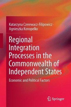 Regional Integration Processes in the Commonwealth of Independent States - Czerewacz-Filipowicz, Katarzyna; Konopelko, Agnieszka