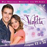 Disney/Violetta - Staffel 2: Folge 11 + 12 (MP3-Download)